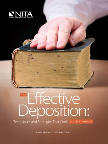 Effective Deposition Techniques and Strategies That Work 4th 2012 edition cover