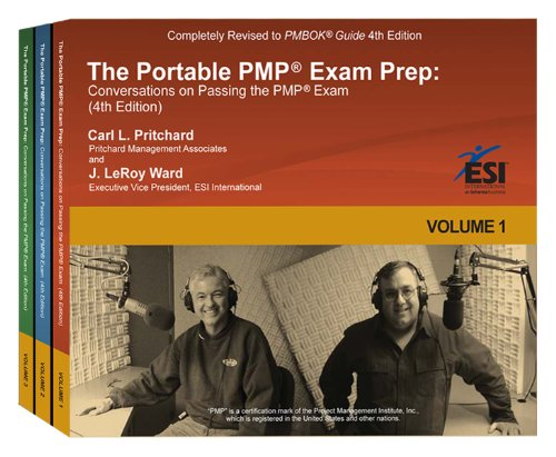 The Portable PMP Exam Prep: Conversations on Passing the PMP Exam  2011 edition cover