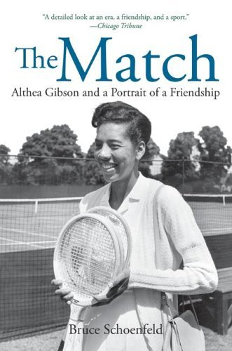 Match Althea Gibson and a Portrait of a Friendship  2005 9780060526535 Front Cover