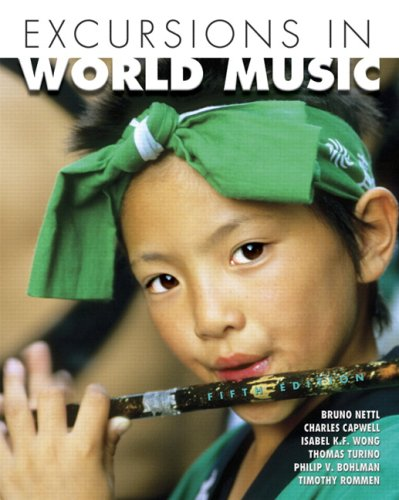 Excursions in World Music Value Package (includes Music CDs for Excursions in World Music) 5th 2008 edition cover