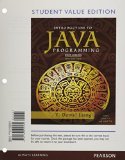 Student Value Edition for Intro to Java Programming, Brief Version  10th 2015 edition cover