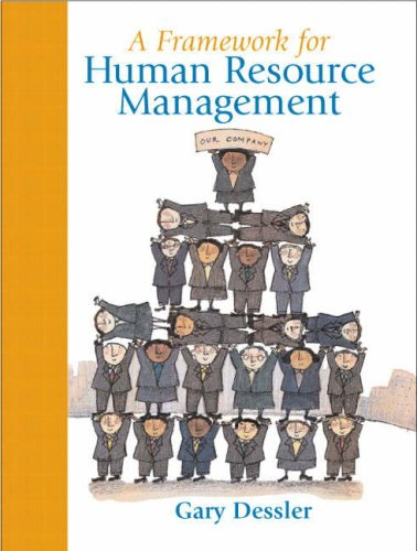 Framework for Human Resource Management  5th 2009 edition cover
