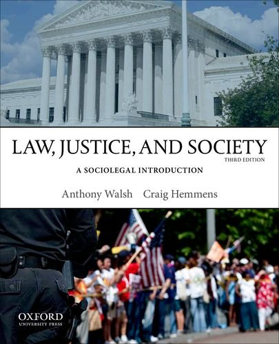 Law, Justice, and Society A Sociolegal Introduction 3rd 2014 edition cover