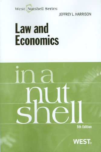 Law and Economics  5th 2011 (Revised) edition cover