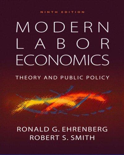 Modern Labor Economics N/A edition cover