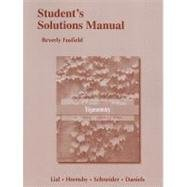Student's Solutions Manual for Trigonometry  10th 2013 (Revised) edition cover