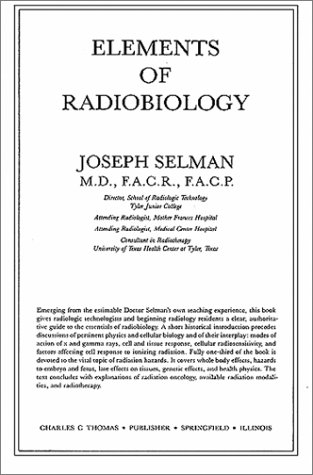 Elements of Radiobiology 1st edition cover