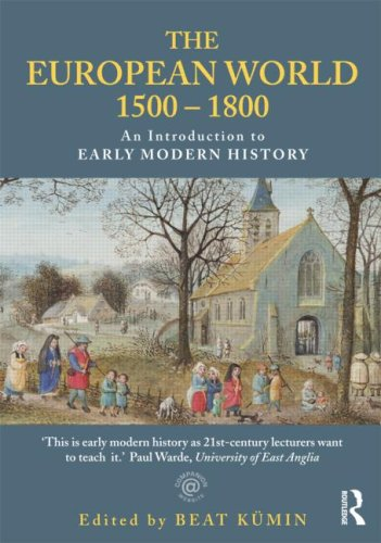 European World 1500-1800 An Introduction to Early Modern History  2009 edition cover