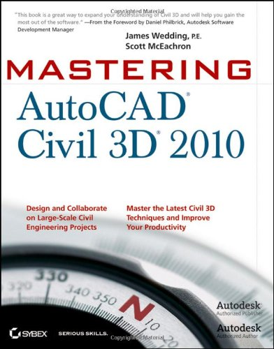 Mastering AutoCAD Civil 3D 2010   2009 9780470473535 Front Cover