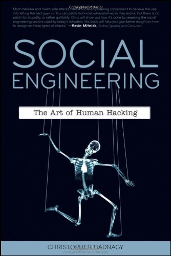 Social Engineering The Art of Human Hacking  2011 edition cover