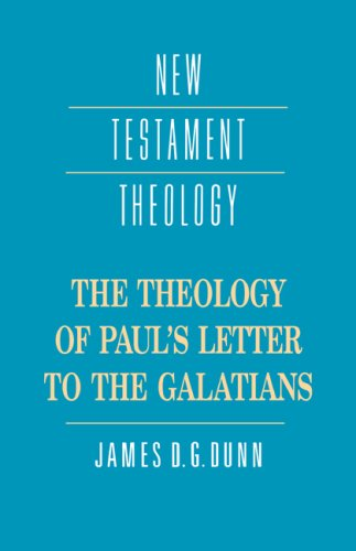 Theology of Paul's Letter to the Galatians   1993 9780521359535 Front Cover