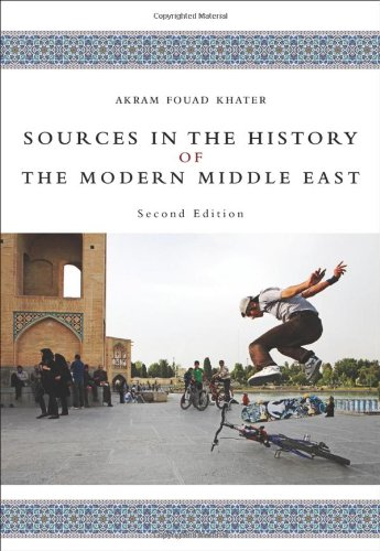 Sources in the History of the Modern Middle East  2nd 2011 edition cover