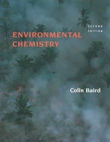 Environmental Chemistry  2nd 1999 edition cover