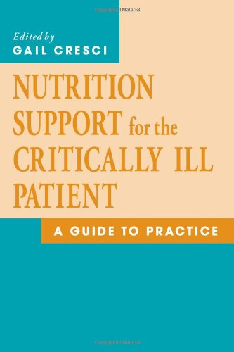 Nutrition Support for the Critically Ill Patient A Guide to Practice  2005 edition cover