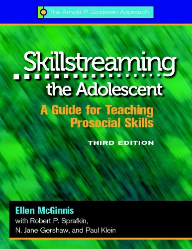 Skillstreaming the Adolescent, 3rd Edition-Book/Forms CD A Guide for Teaching Prosocial Skills 3rd 2012 edition cover