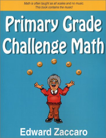 Primary Grade Challenge Math   2003 edition cover
