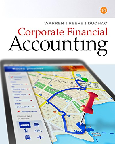 Corporate Financial Accounting: 14th 2016 9781305653535 Front Cover