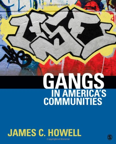 Gangs in America's Communities   2012 edition cover