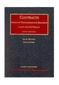 Contracts Exchange Transactions and Relations, Cases and Materials 3rd 2001 (Revised) edition cover