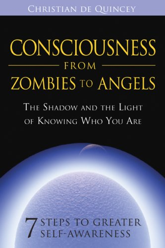 Consciousness from Zombies to Angels The Shadow and the Light of Knowing Who You Are  2009 edition cover