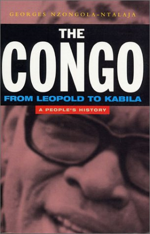 Congo From Leopold to Kabila - A People's History  2001 edition cover