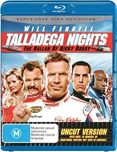 Talladega Nights: The Ballad of Ricky Bobby [Blu-ray] System.Collections.Generic.List`1[System.String] artwork