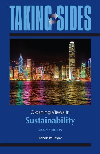 Clashing Views in Sustainability:   2013 edition cover