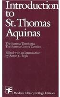 Introduction to Saint Thomas Aquinas   1988 edition cover