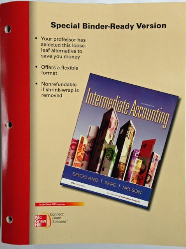 INTERMEDIATE ACCT.(LOOSELEAF)  N/A edition cover