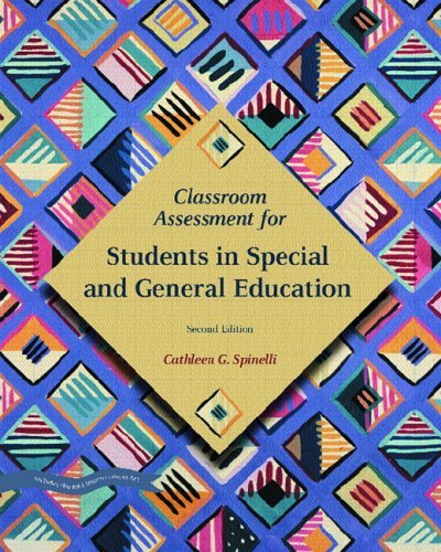 Classroom Assessment for Students in Special and General Education  2nd 2006 (Revised) edition cover