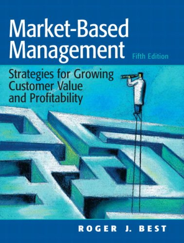 Market-Based Management  5th 2009 edition cover