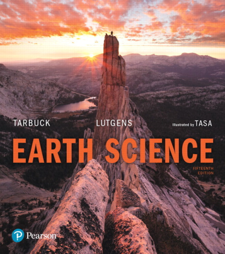 Earth Science:   2017 9780134543536 Front Cover