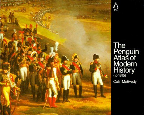 Penguin Atlas of Modern History To 1815  1986 edition cover