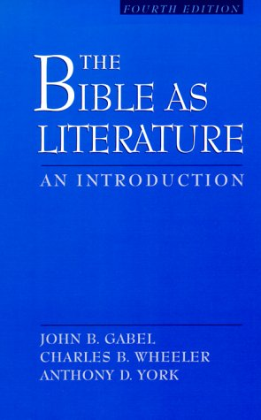 Bible as Literature  4th 2000 (Revised) edition cover