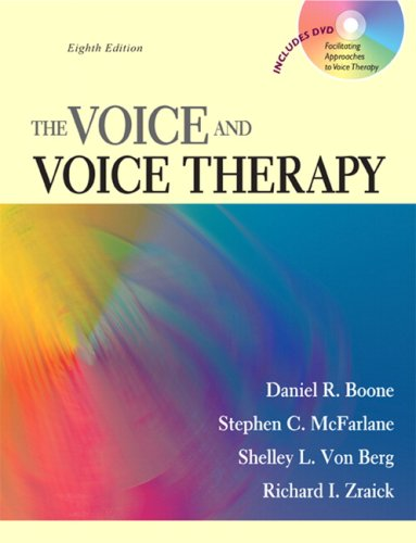 Voice and Voice Therapy  8th 2010 edition cover