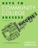 Keys to Community College Success  7th 2015 edition cover