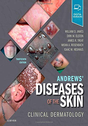 Andrews' Diseases of the Skin Clinical Dermatology 13th 2020 9780323547536 Front Cover