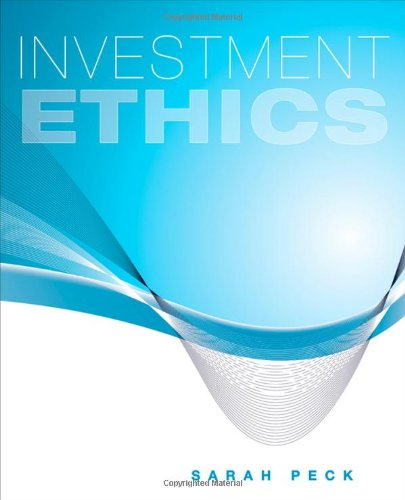 Investment Ethics   2011 edition cover