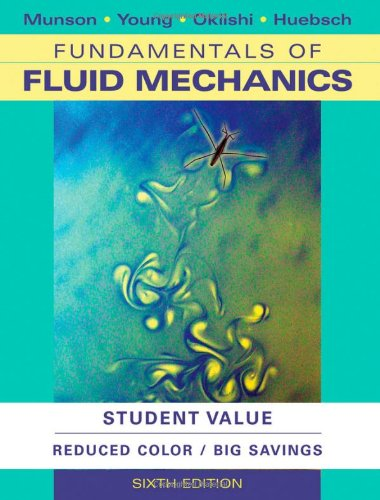 Fundamentals of Fluid Mechanics  6th 2011 edition cover