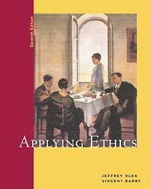 Applying Ethics  7th 2002 9780534561536 Front Cover