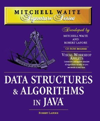 Data Structures and Algorithms in Java  2nd 2003 (Revised) edition cover