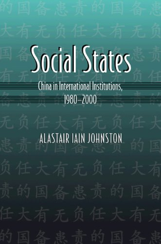 Social States China in International Institutions, 1980-2000  2008 9780691134536 Front Cover