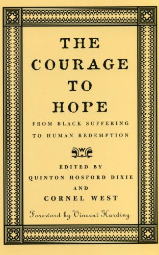 Courage to Hope From Black Suffering to Human Redemption  1999 edition cover