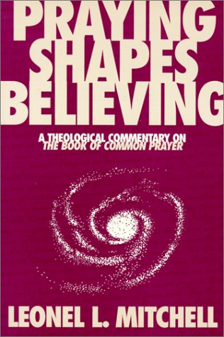 Praying Shapes Believing A Theological Commentary on the Book of Common Prayer 2nd (Reprint) edition cover