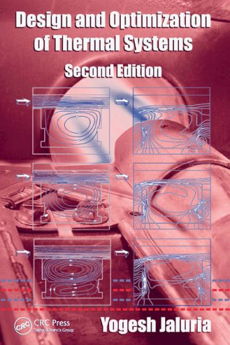 Design and Optimization of Thermal Systems  2nd 2007 (Revised) edition cover
