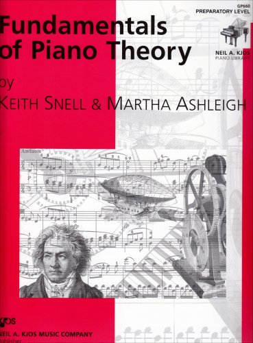 Fundamentals of Piano Theory: Preparatory 1st 1998 edition cover