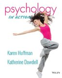 Psychology in Action 11th 2015 9781118801536 Front Cover