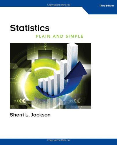 Statistics Plain and Simple  3rd 2014 edition cover
