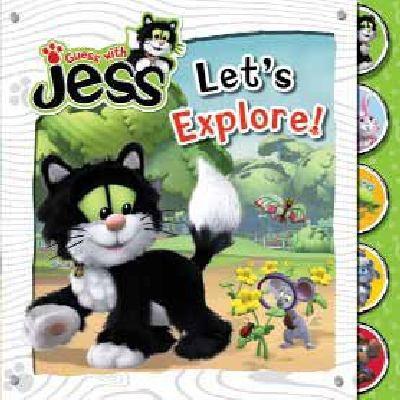 Let's Explore!   2010 9781405253536 Front Cover