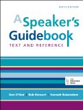 A Speaker's Guidebook: Text and Reference  2014 edition cover